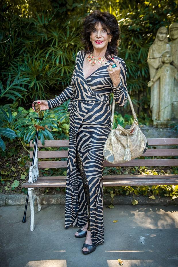 Lady Francisco (Foto: Globo/Raquel Cunha)