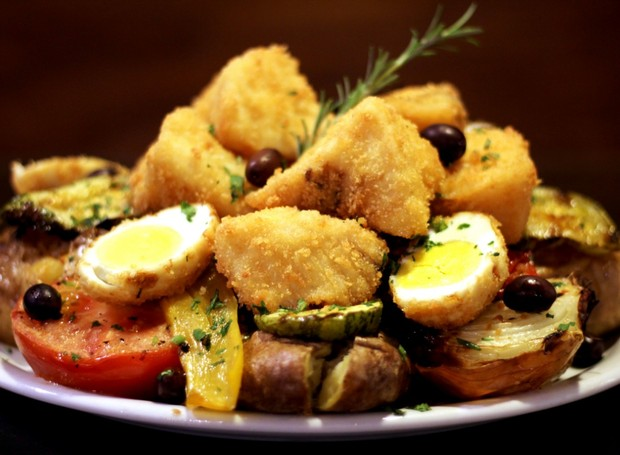 Frito de bacalhau  (Foto: Divulgação)