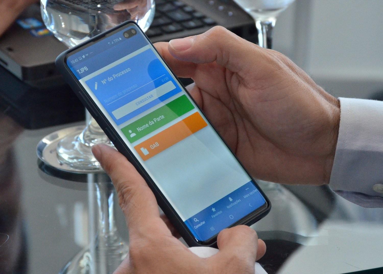 Aplicativo para consultas processuais no TJPB é lançado; veja como usar - Notícias - Plantão Diário