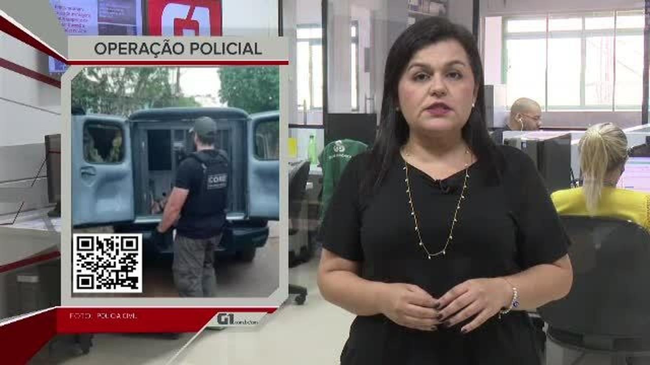 G1 em 1 Minuto - AC: Operação da polícia termina com prisão de 15 pessoas