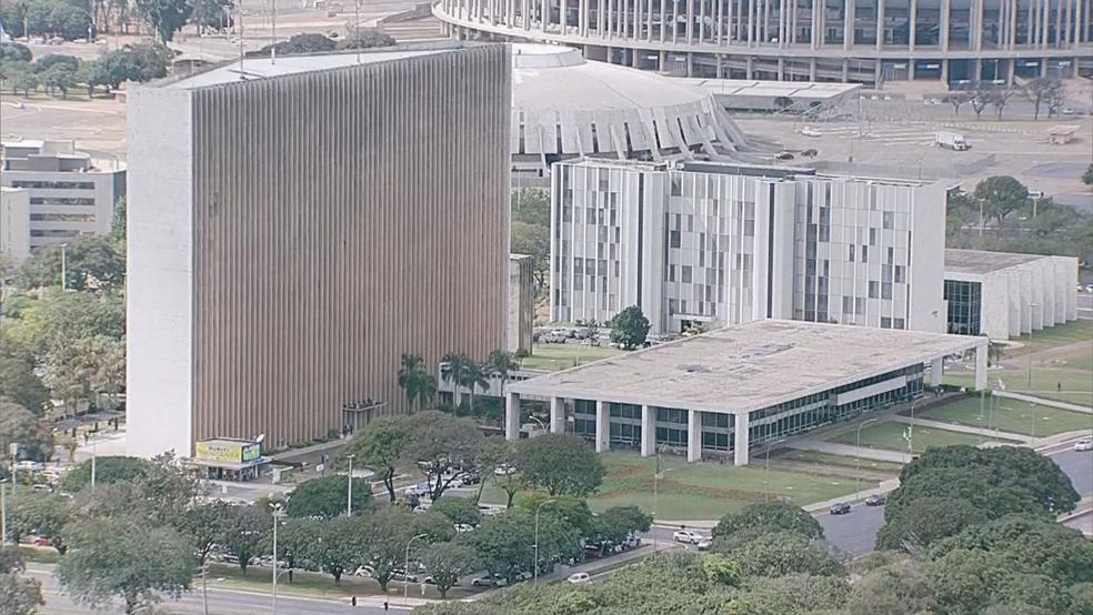 Palácio do Buriti, sede do poder Executivo do Distrito Federal — Foto: TV Globo/Reprodução