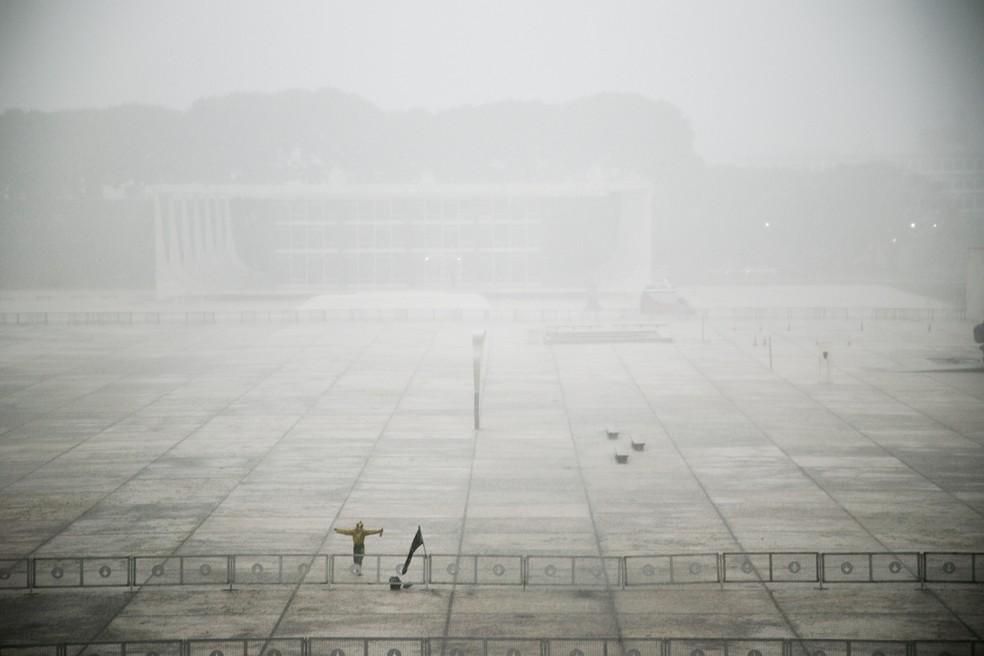 Vista da Praça dos Três Poderes, em Brasília — Foto: Naiara Pontes/Divulgação