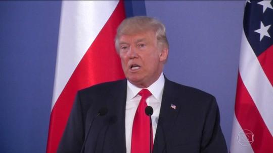 De passagem pela Polônia, Trump volta a ameaçar a Coreia do Norte