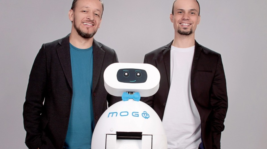 O Mogô é um robô de autoatendimento para restaurantes self-service (Foto: Divulgação)