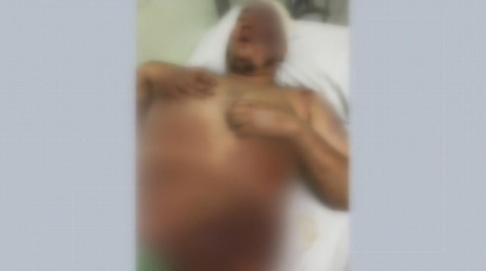 Marcos Paulo Hasimoto Ribeiro, de 26 anos, foi achado em hospital de Catalão, Goiás — Foto: Foto: Reprodução/Polícia Cívil de Guará