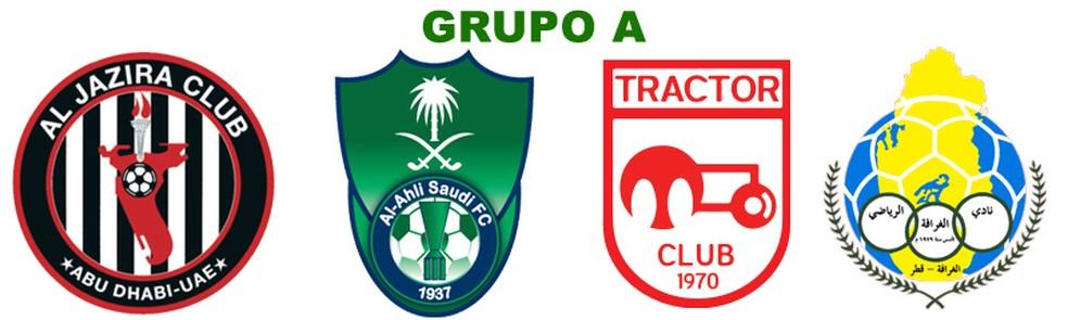 Grupo A: Al Jazira, Al Ahli Jeddah, Tractor Sazi, Al Gharafa (Foto: Futebol no Japão)