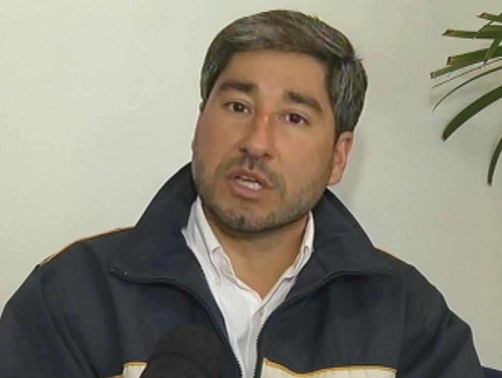 O deputado Fernando Cury foi eleito por Botucatu, no interior de SP. — Foto: Reprodução / TV TEM