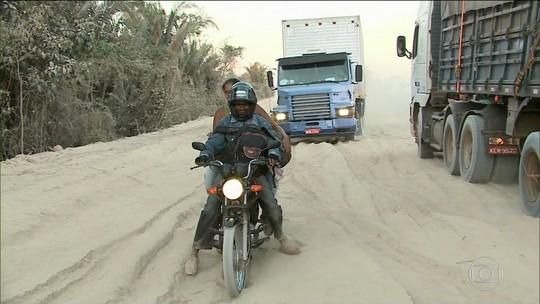Governo decide asfaltar pista e só piora condições de trecho da BR-226