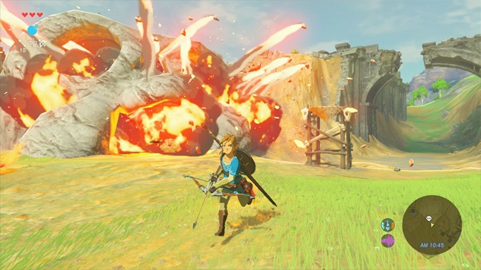 The Legend of Zelda: Breath of the Wild permitirá interagir com Hyrule de maneiras nunca antes vistas na série (Foto: Reprodução/Coming Soon)
