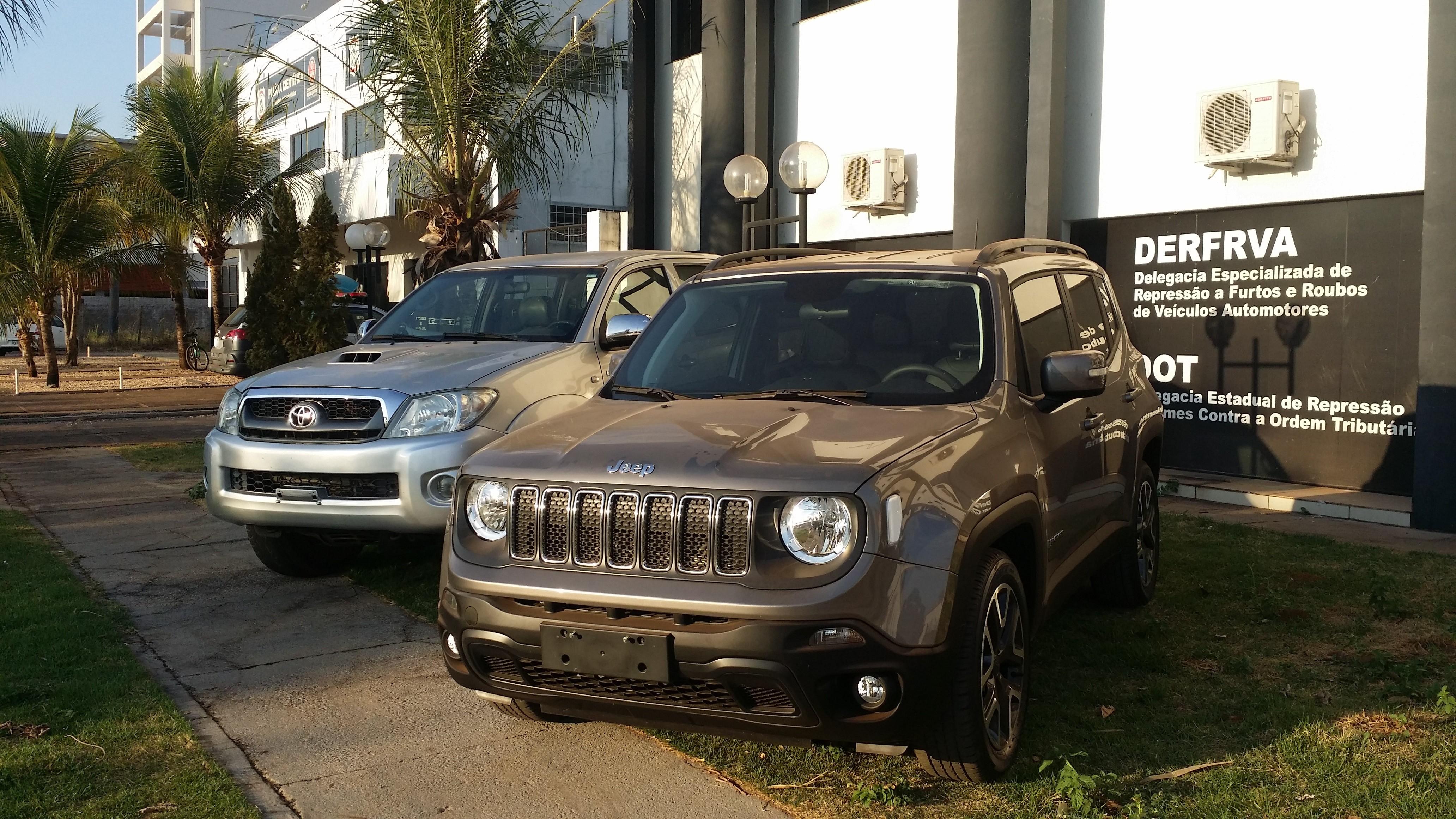 Caminhonete adulterada é apreendida em garagem no centro de Palmas - Notícias - Plantão Diário