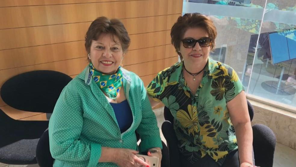 As irmãs Sandra Maria e Sheila Maria — Foto: Arquivo pessoal