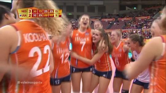 Holanda, China, Itália e Sérvia estão garantidas nas semifinais do Mundial feminino
