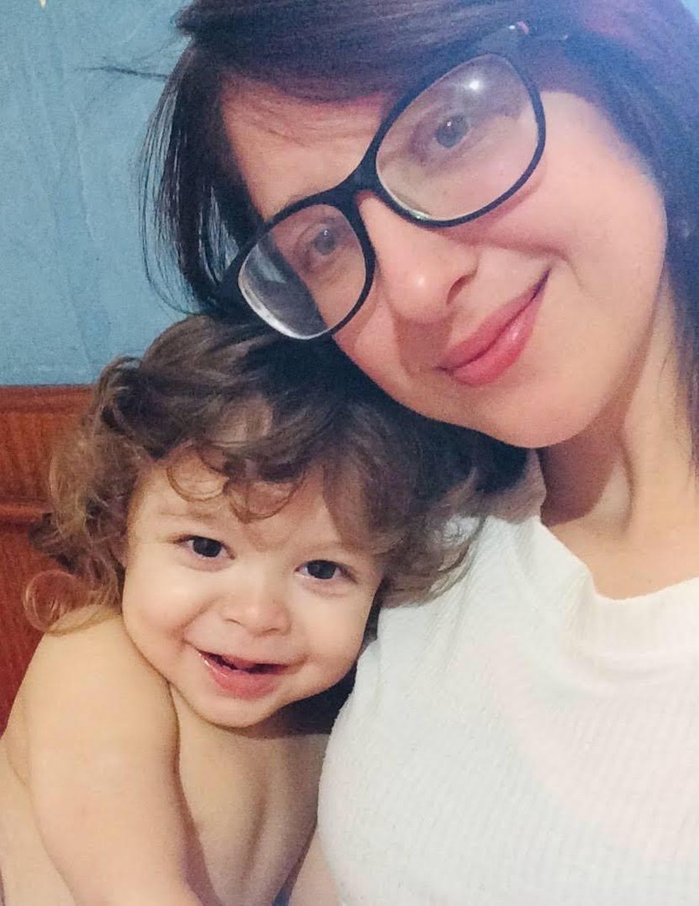 Arthur e a mãe, Sara, de Campo Grande (MS) — Foto: Sara Onori/Arquivo pessoal