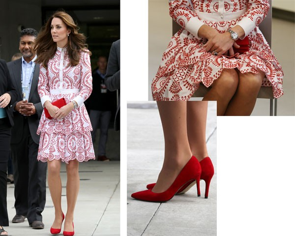 O look de Kate Middleton (Foto: Getty Images)