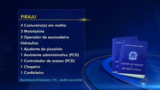 Confira as oportunidades de emprego divulgadas pelos PATs da região de Itapetininga