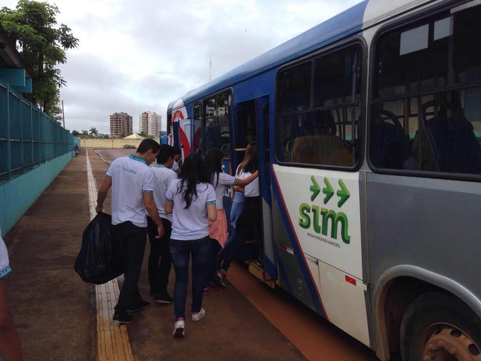 -  Unidade de apoio do SIM recastra e emite cartão para utilização dos ônibus do transporte público urbano de Porto Velho  Foto: Assessoria/Divulgação