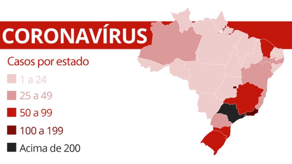 Em 24h, número de casos confirmados em Minas Gerais subiu de 55 para 83, em 12 municípios — Foto: Guilherme Luiz Pinheiro/G1