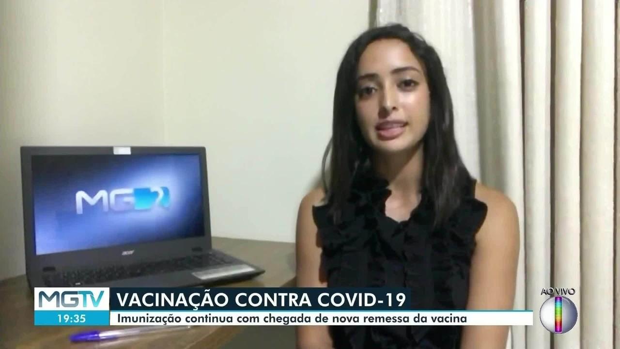 Covid-19: Vacinação será retomada em Valadares na segunda