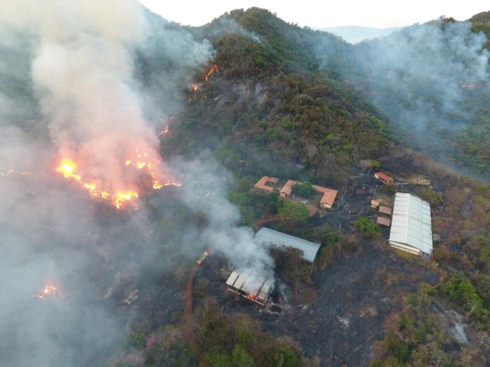 Mineradora diz que fazenda foi atacada por agricultores, no sudeste do Pará. (Foto: Divulgação/Vale)