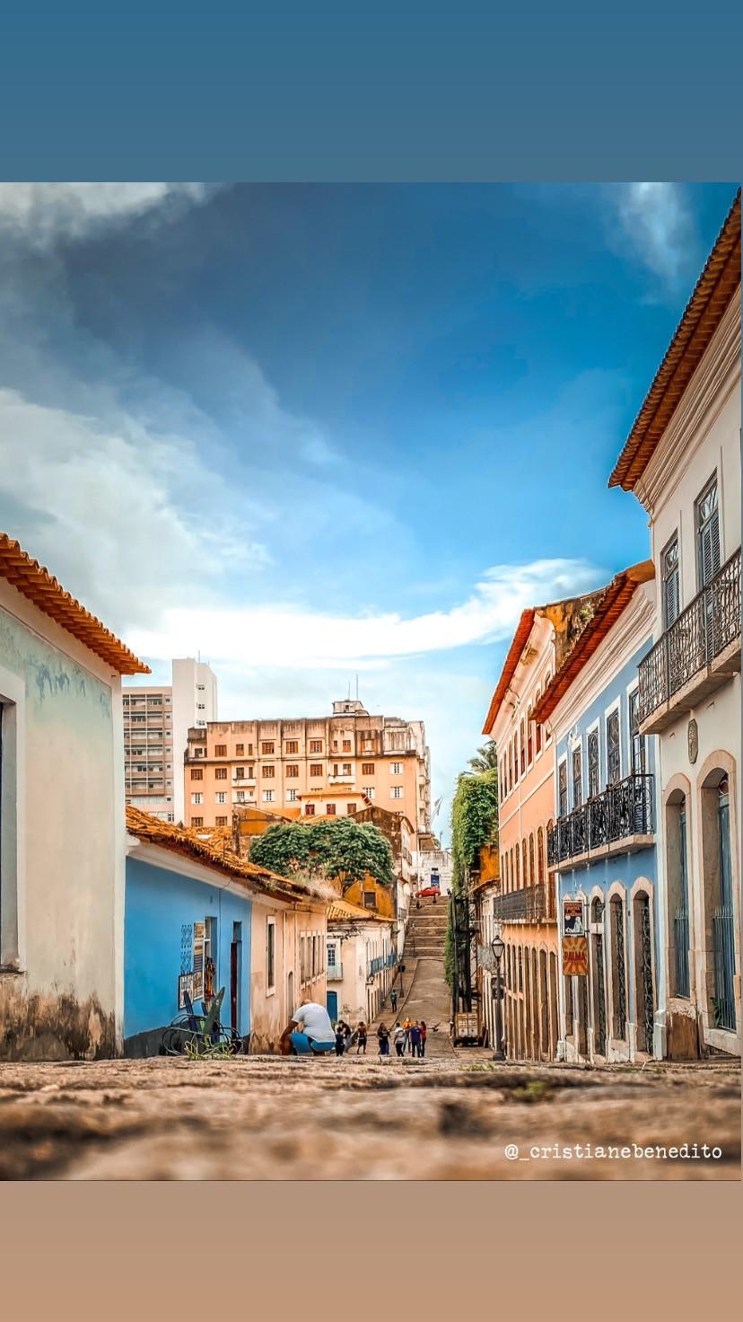 Internautas do G1 MA escolhem a rua do Giz como a mais bonita de São Luís