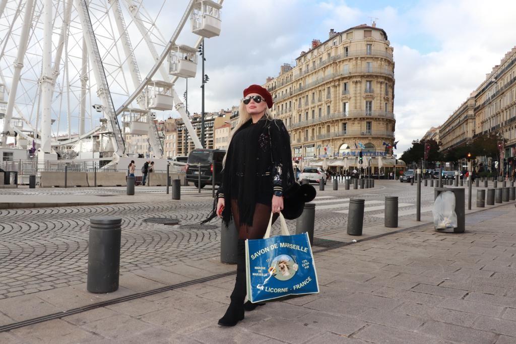 Suelem Cury em um dos lugares favoritos: Londres (Foto: Arquivo pessoal)