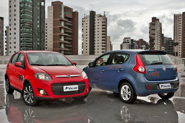 Fiat Palio (gerações) (Foto: Divulgação)