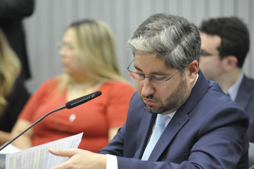 O deputado estadual Fernando Cury, do Cidadania.  — Foto: Carol Jacob/Alesp