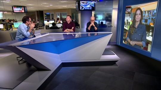 """Mesa discute """" incômodo jejum de gols"""" do Palmeiras"""
