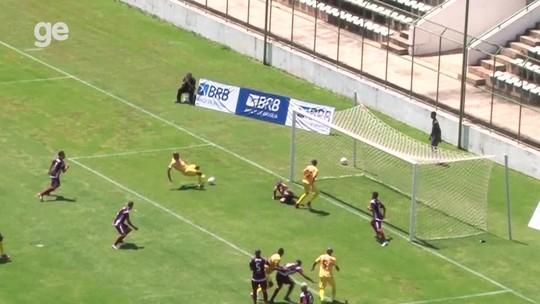Brasiliense goleia, Bolamense vence, e Paranoá empata com Formosa