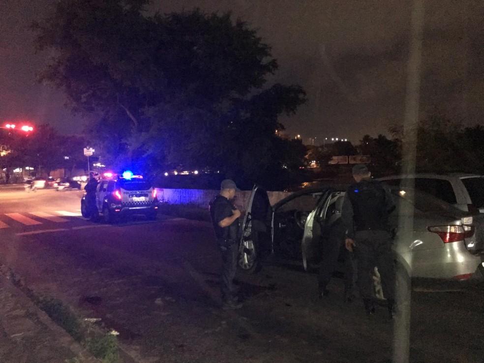 Caso aconteceu na Avenida das Alagoas — Foto: Heloísa Guimarães/Inter TV Cabugi