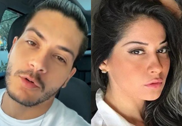 Arthur Aguiar fala de cansaço após noite com Mayra Cardi no hospital