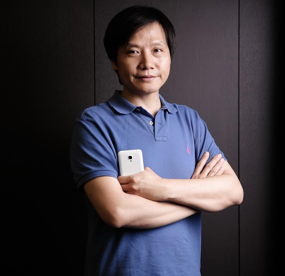 Lei Jun, presidente da Xiaomi — Foto: Divulgação/Xiaomi