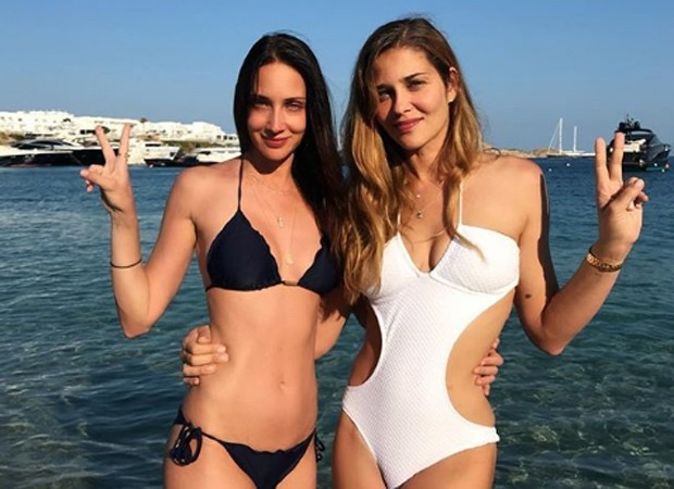 Ana Beatriz Barros e a irmã, Patrícia Barros (Foto: Reprodução)