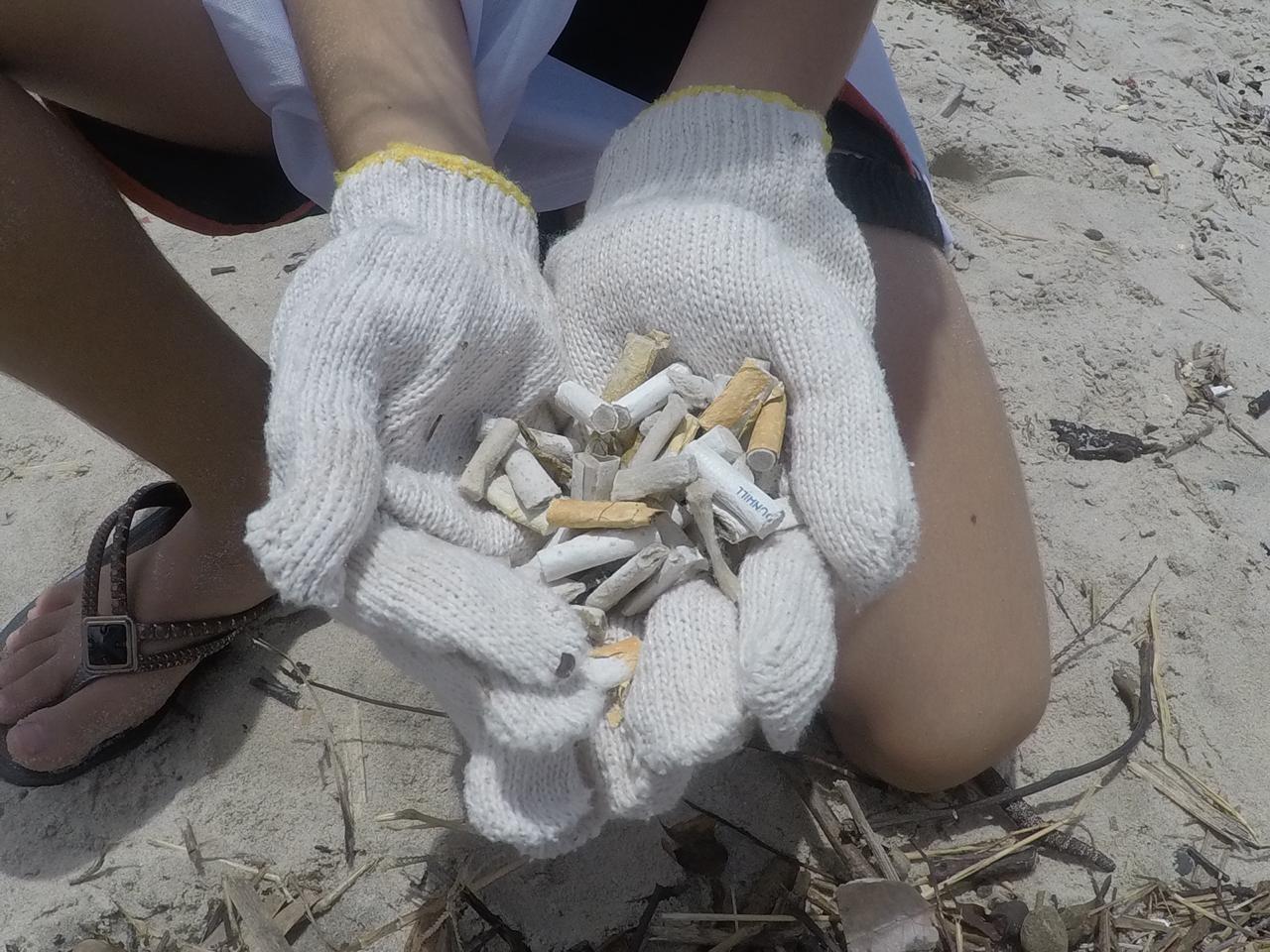 As crianças têm aulas de surf, aprendem sobre a conservação da natureza e recolhem resíduos na praia (Foto: Divulgação)