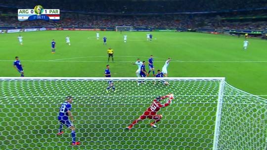 """Destaque nos jogos do Paraguai, Gatito avalia campanha na Copa América: """"Caminho certo"""""""