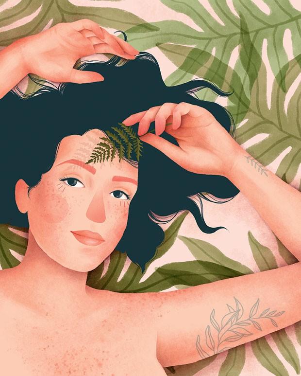Beleza - Ecocremes (Foto: Ilustrações Priscila Barbosa)