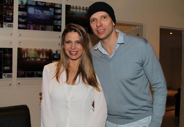 Sheila Mello e Fernando Scherer (Foto: Thiago Duran/AgNews)