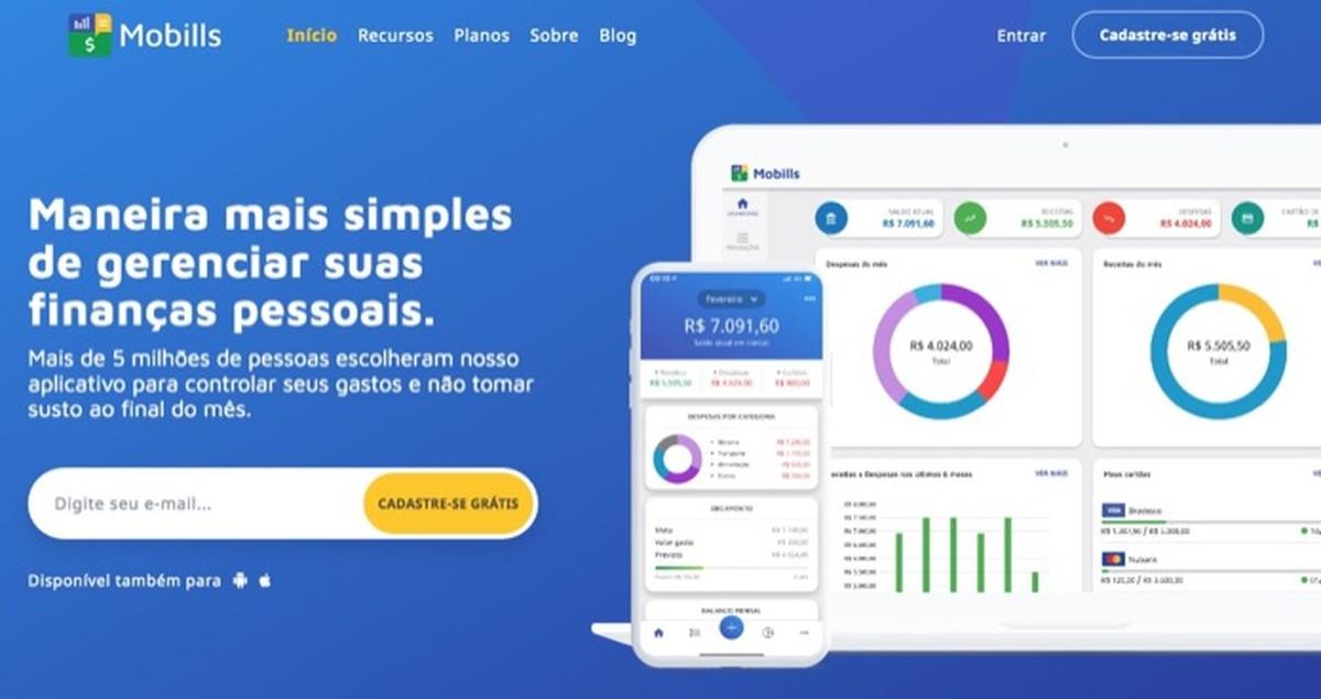 Como usar o gerenciador financeiro Mobills no PC para economizar dinheiro