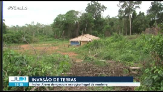 Índios Arara temem confronto com posseiros que invadiram reserva indígena no Pará