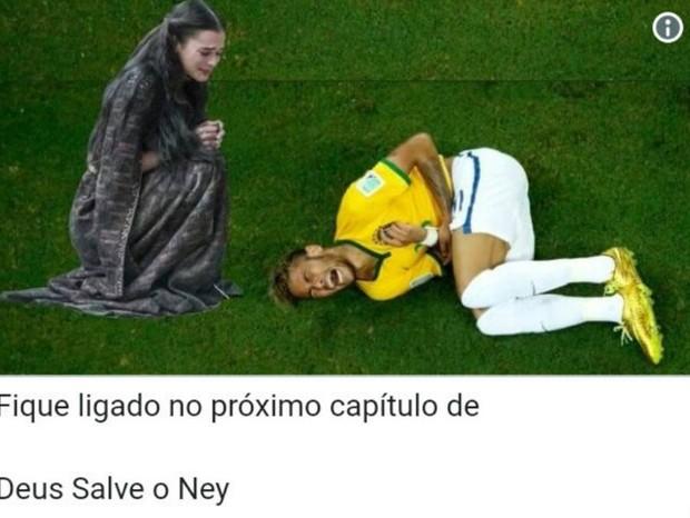 Memes da vitória do Brasil sobre a Costa Rica (Foto: reprodução)