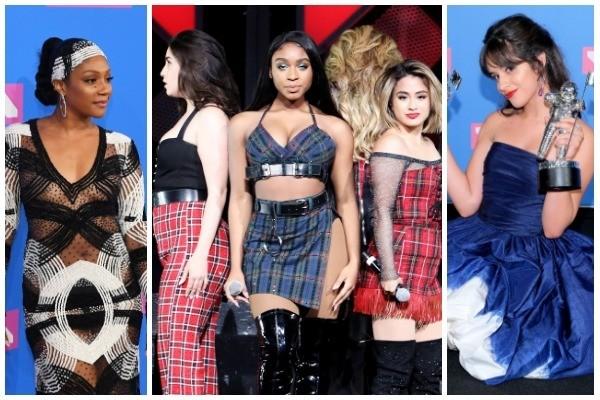 Tiffany Haddish, Fifth Harmony, Camila Cabello (Foto: Getty Images)