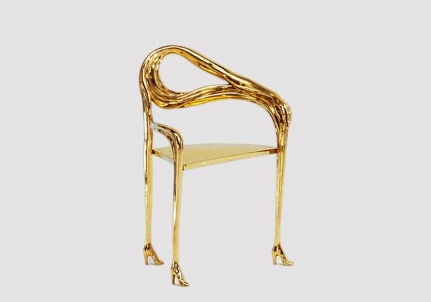Cadeira assinada por Salvador Dalí (Foto: Divulgação)