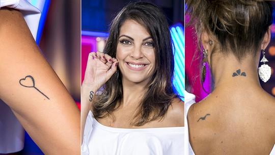 Thalita Rebouças explica suas 10 tatuagens e diz que já tirou uma a laser: 'Dói muito mais'