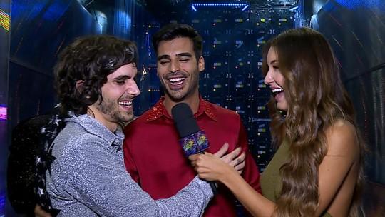 Anderson Tomazini brinca com Fiuk no 'Dança dos Famosos': 'Ele estava escondendo o jogo'