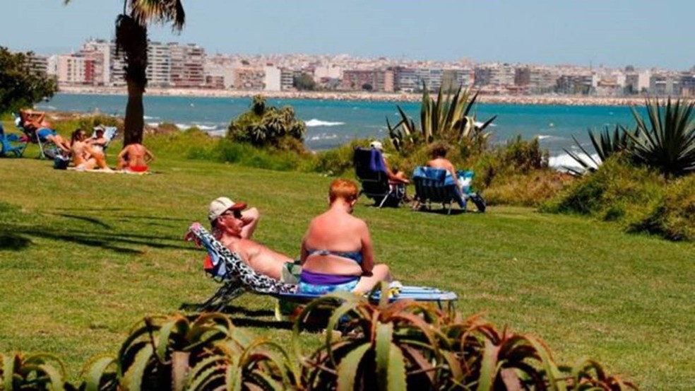 Maior comunidade de britânicos fora do Reino Unido na Europa está na Espanha — Foto: Getty Images/BBC