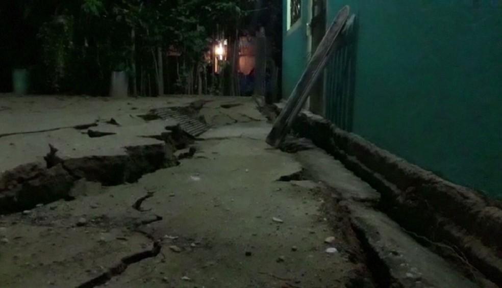 Terremoto de magnitude 8,1 atinge o México e gera alerta de tsunami. (Foto: Reprodução/Carlos SANTOS/Lizbeth CUELLO)