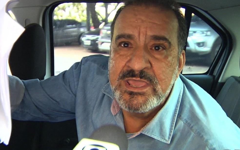 Maurício Beraldo é denunciado por fraude em programa de moradia popular (Foto: Reprodução/TV Anhanguera)