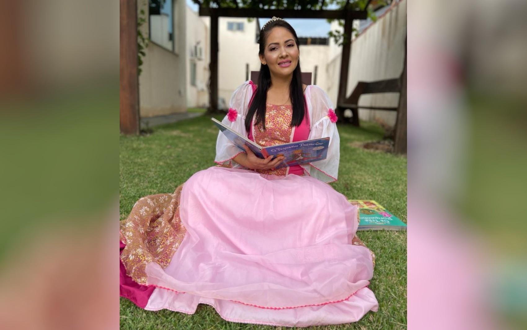 Advogada usa rede social para contar histórias para crianças durante a quarentena em Goiás
