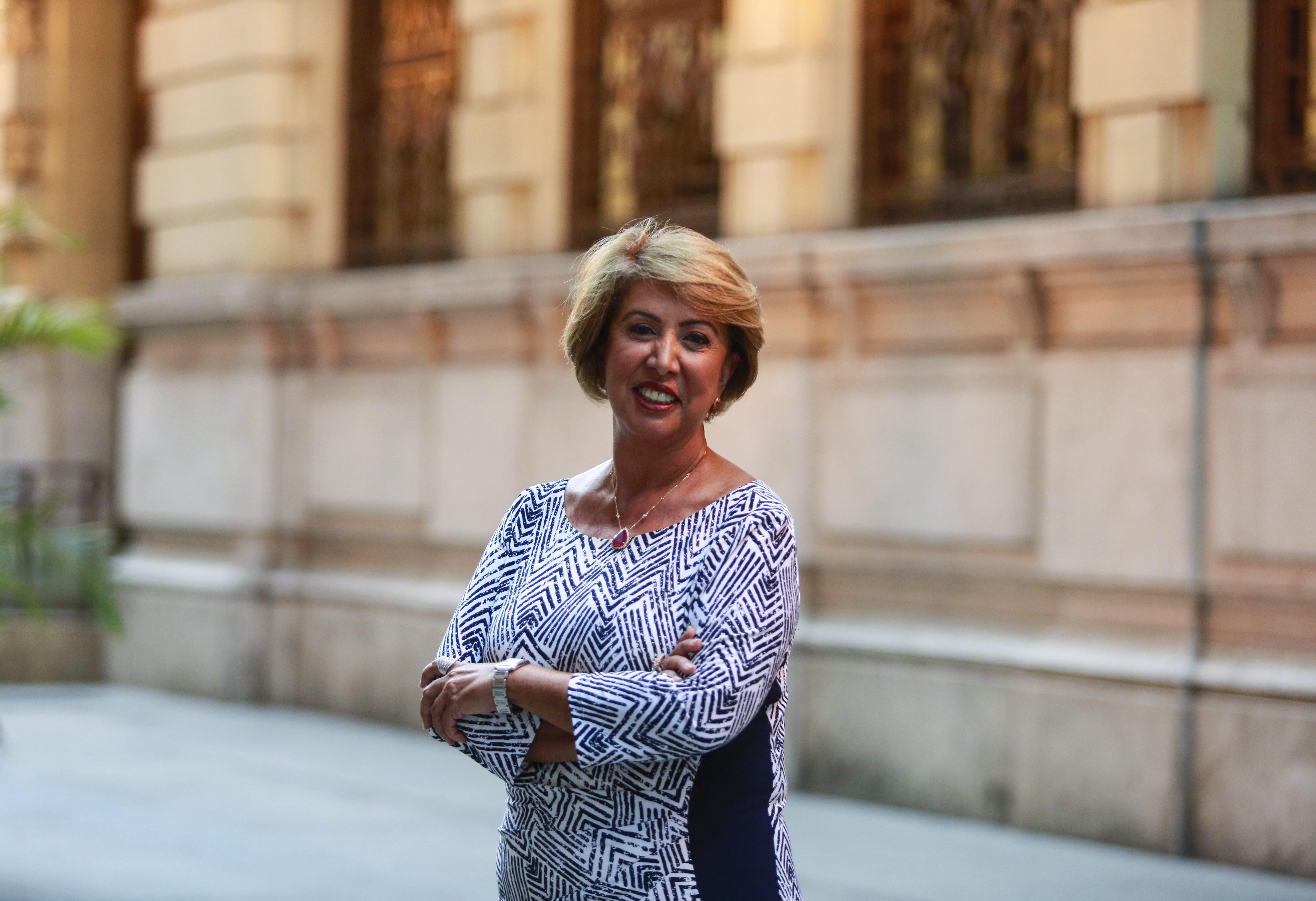 Angela Costa, presidente da Associação Comercial do Rio