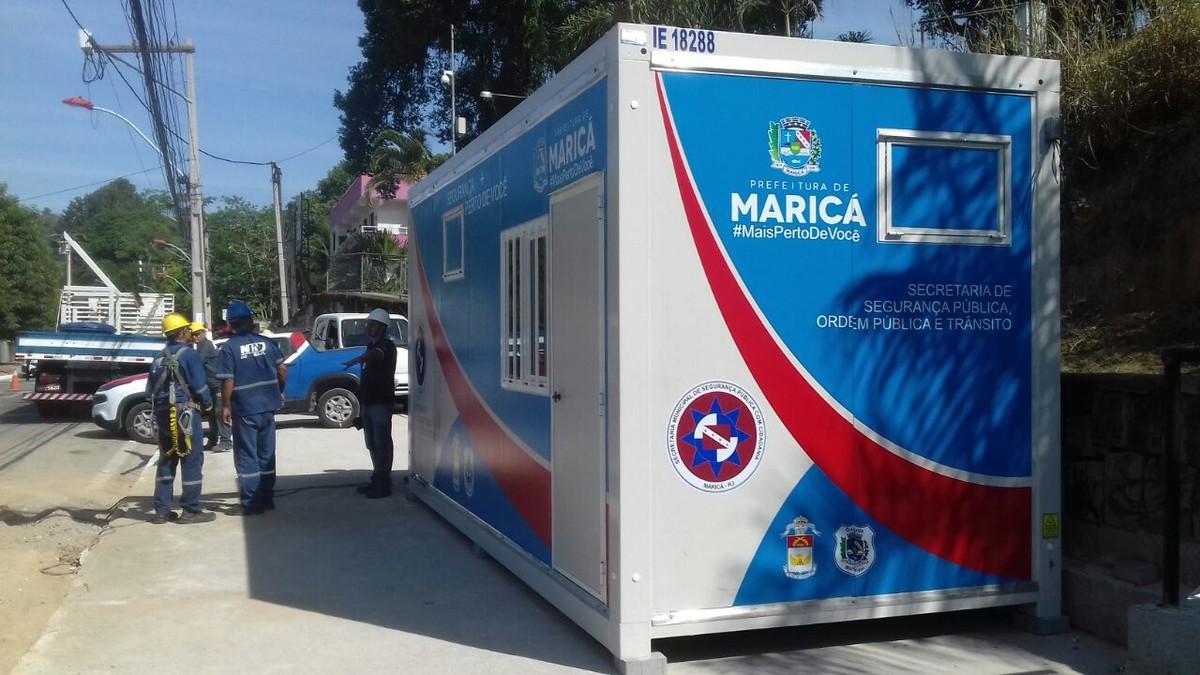 Inoã e Centro de Maricá, RJ, recebem módulos de segurança
